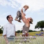 un portrait de famille dans les blés …