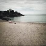 sur la plage de Saint Quay Portrieux