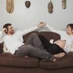 J. et M. (portrait de futurs parents à domicile)