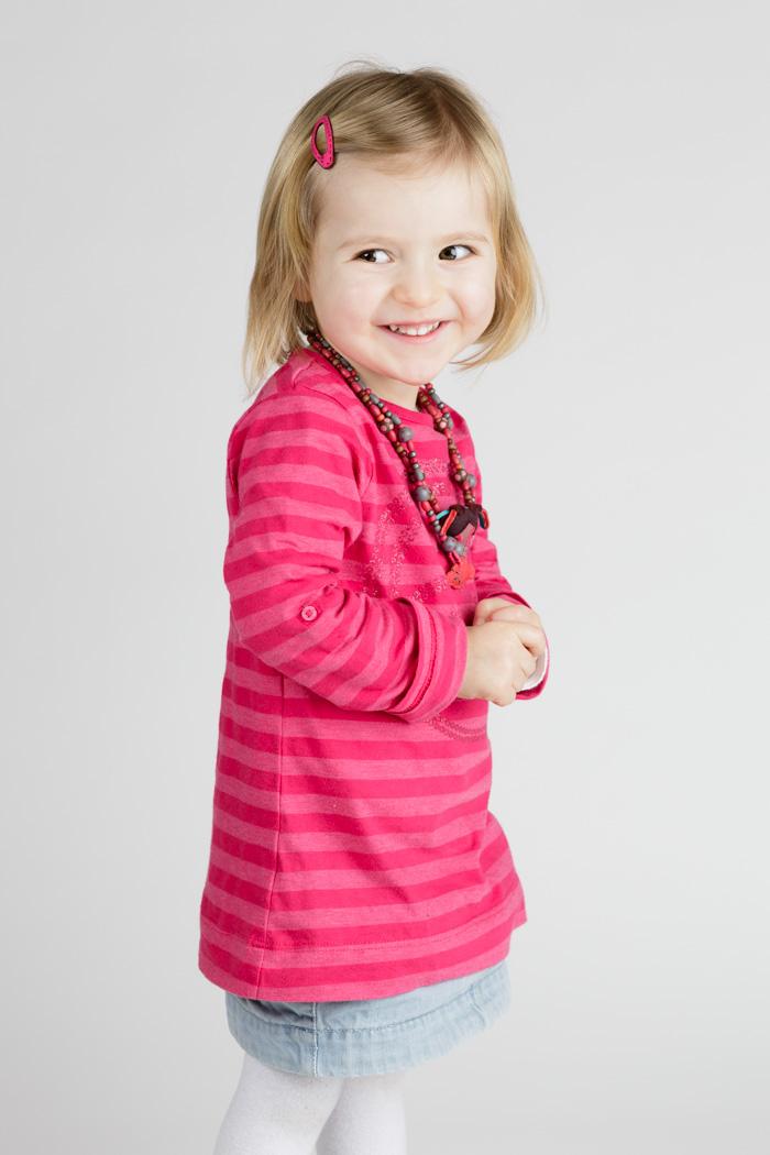 photographe rennes portrait enfant studio
