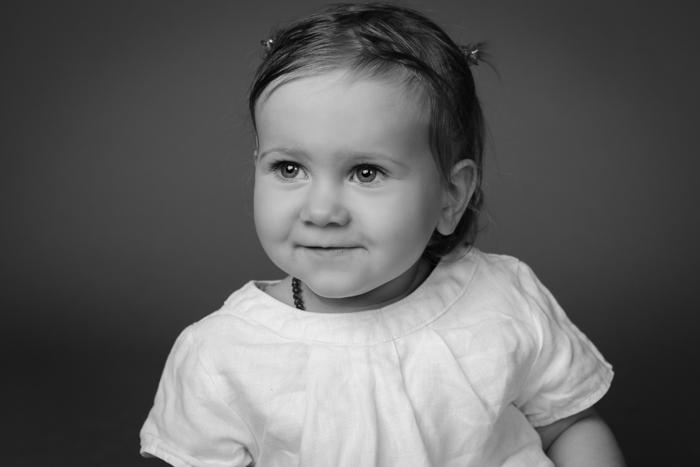 portrait de bebe