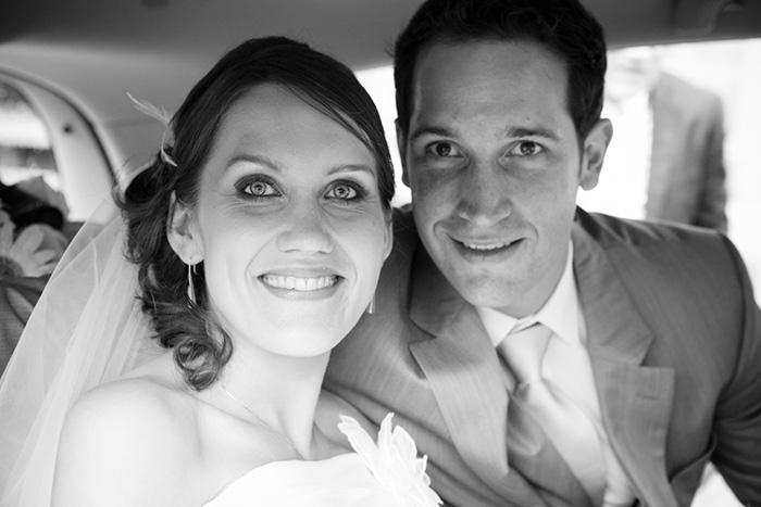 mariage rennes portrait noir et blanc