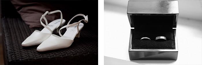 mariage rennes bretagne gros plan alliances chaussures