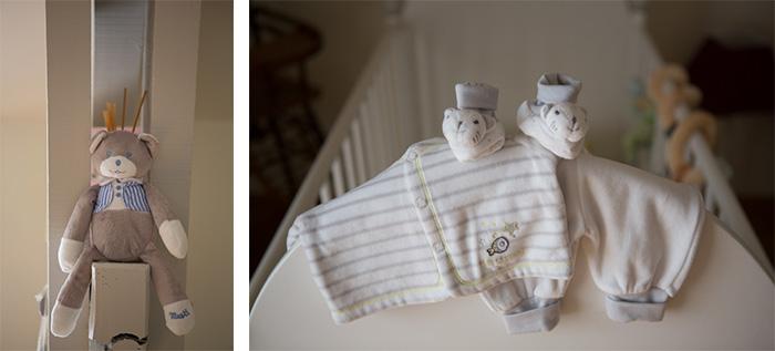 dans la chambre de bébé
