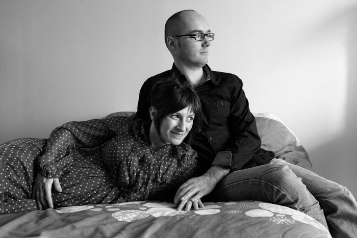 portrait original à domicile femme enceinte david ferriere photographe professionnel