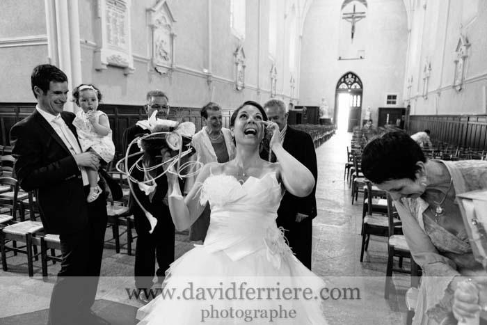 mariage larmes de joie