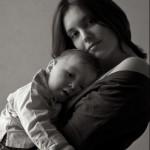 portrait à domicile «jeune maman»