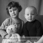 frère et soeur : un portrait à domicile à rennes
