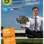 Affiche du Forum du Grand Ouest 2010 à Rennes