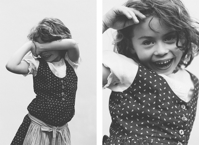 rennes portrait enfant noir et blanc