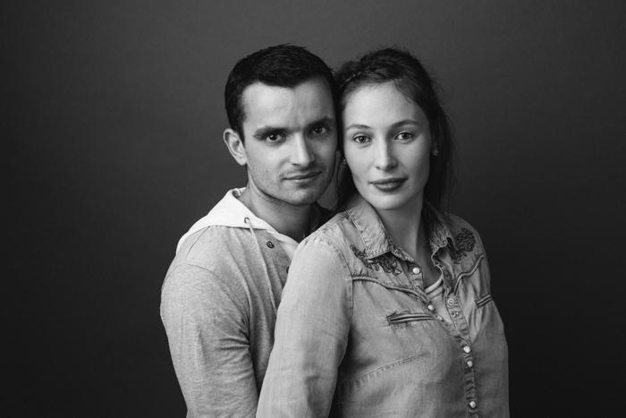 rennes portrait couple studio seance photo en amoureux