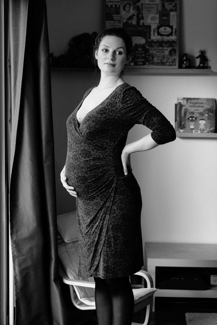 portrait femme enceinte rennes