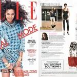 Portrait de Natacha Loyer pour Elle Magazine