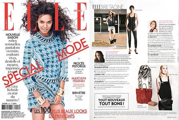 elle magazine fevrier 2014 special bretagne