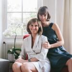 Mademoiselle C. et sa Maman (un portrait à domicile)