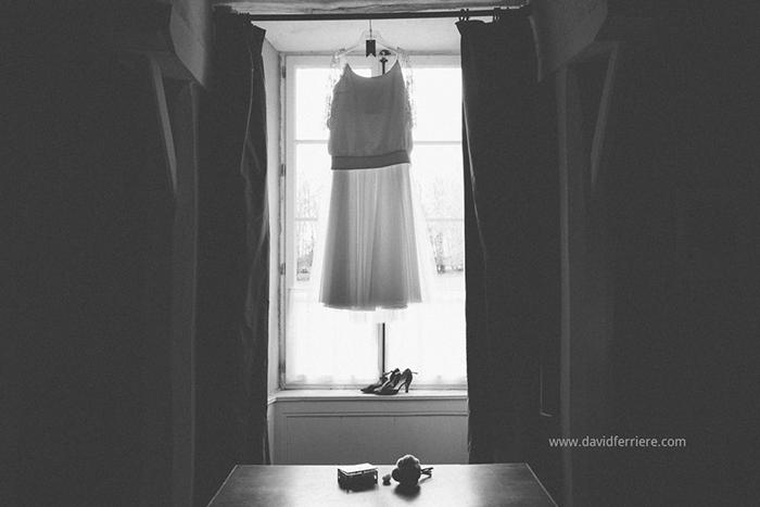 photographe mariage rennes preparatif robe de la mariée
