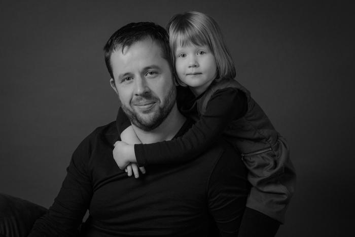 rennes photographe portrait pere fille