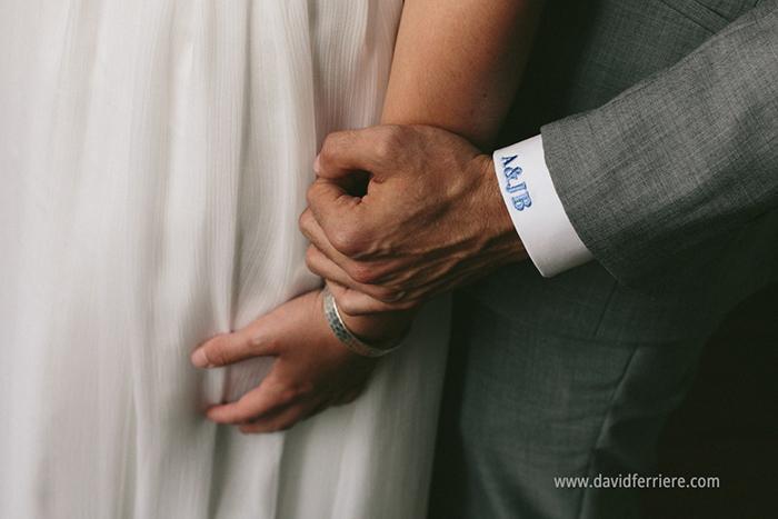 mariage vos prénoms brodés sur le poignet