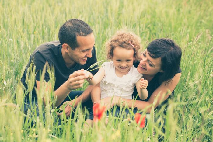 rennes photo famille portrait champ blé