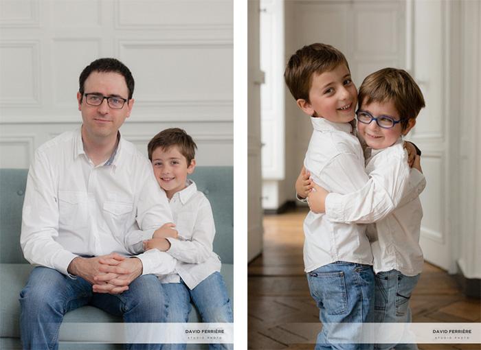 portrait de famille studio rennes