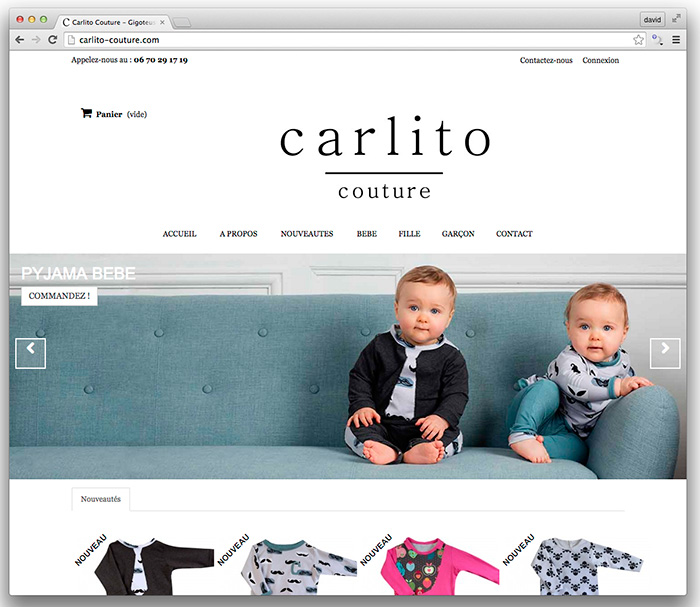 carlito couture david ferriere photographe pro mode enfant confection