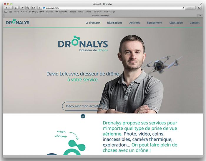 portrait fondateur DRONALYS Rennes
