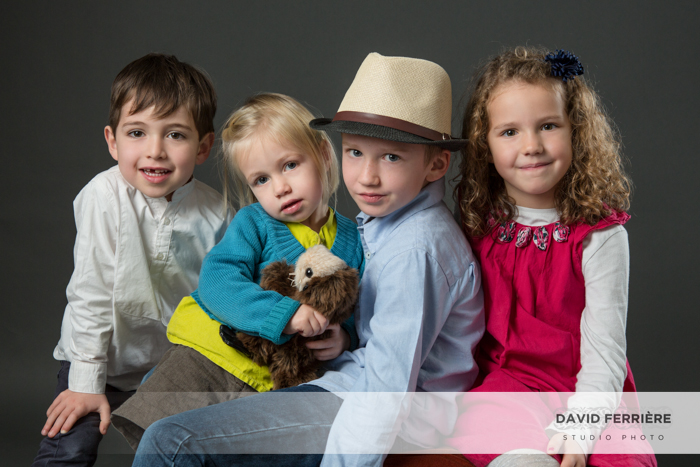 portrait studio photo enfant rennes
