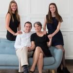 Un portrait de famille en studio à Rennes