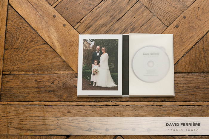 photographe mariage bretagne photo sur support numerique