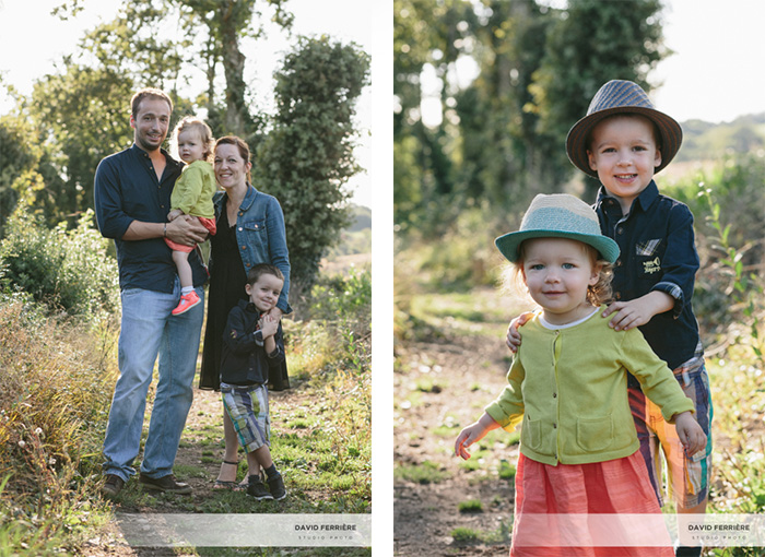 rennes portrait famille en exterieur