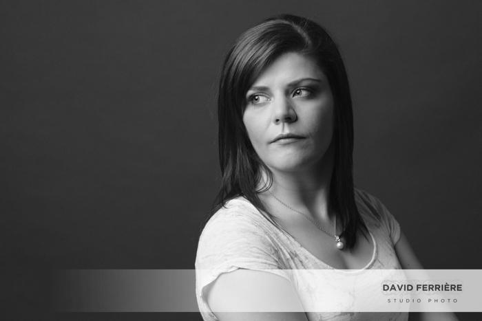 portrait de femme en studio idee cadeau photo