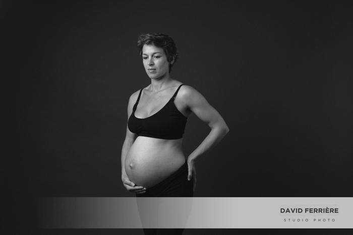 beau portrait photo grossesse femme enceinte rennes bretagne grand ouest