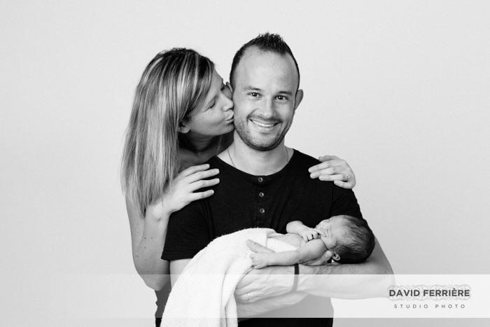 seance photo portrait de naissance bebe rennes photographe original