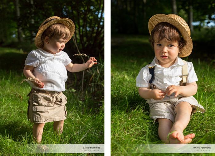 portrait enfant jumeaux original rennes bretagne