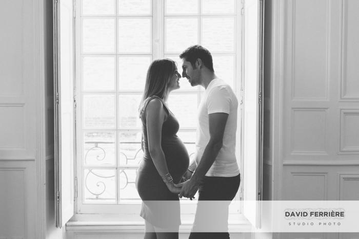 photographe grossesse femme enceinte futurs parents rennes