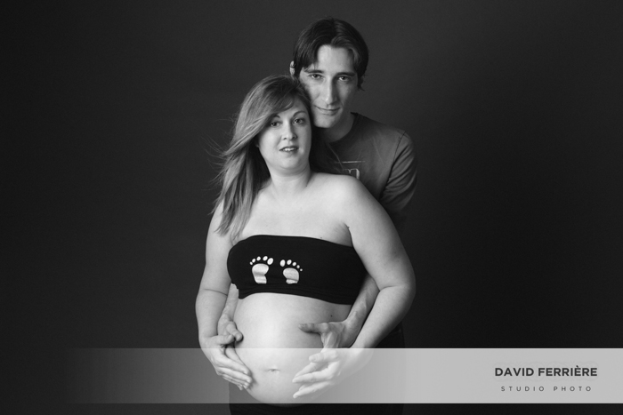 portrait femme enceinte grossesse studio photo rennes