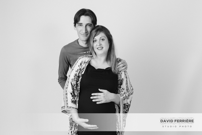 rennes grossesse photo femme enceinte portrait en studio