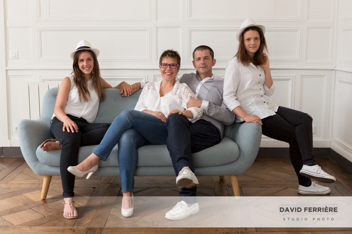 portrait de famille original studio photo rennes