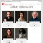 Portraits de l'équipe de Voyez Large