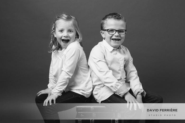 portrait de famille studio rennes  enfant