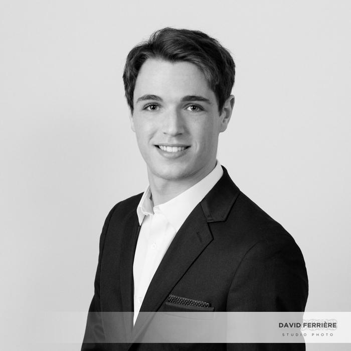 photo pour CV portrait étudiant