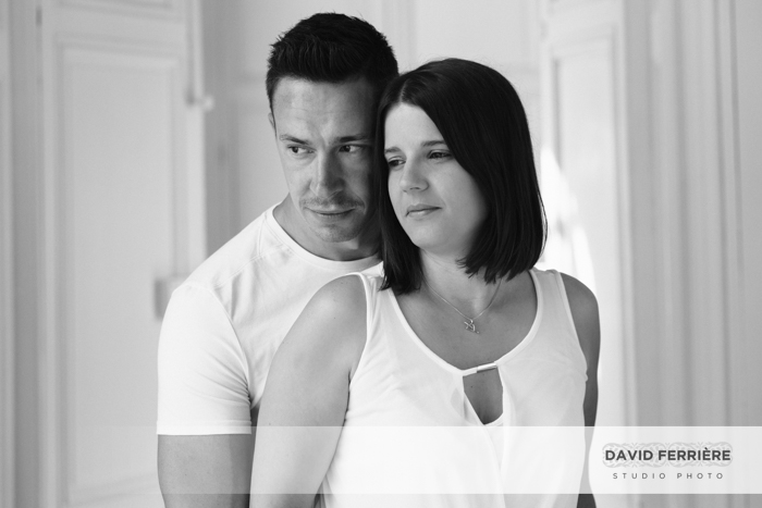 superbe photo de couple portrait amoureux love session rennes