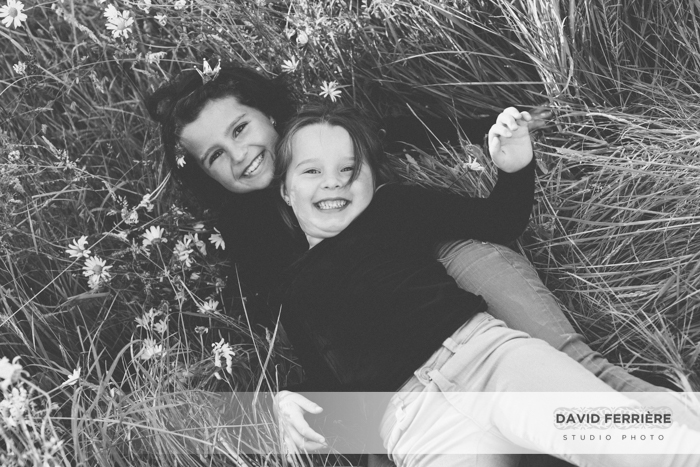 photo portrait enfant soeurs décontracté