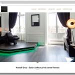 Reportage photo pour le site de Kristoff DROY, salon coiffeur privé à Rennes