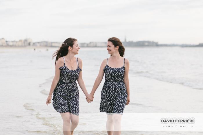 seance photo saint malo soeurs jumeaux jumelles