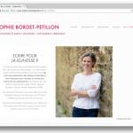 Portrait Sophie BORDET-PETILLON,  journaliste & auteur jeunesse
