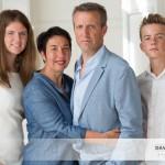 Un portrait de famille en lumière naturelle
