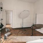 Le studio en «configuration Portraits d'Entreprise»