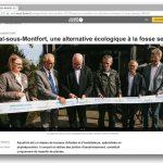 Reportage inauguration des nouveaux locaux d'AQUATIRIS