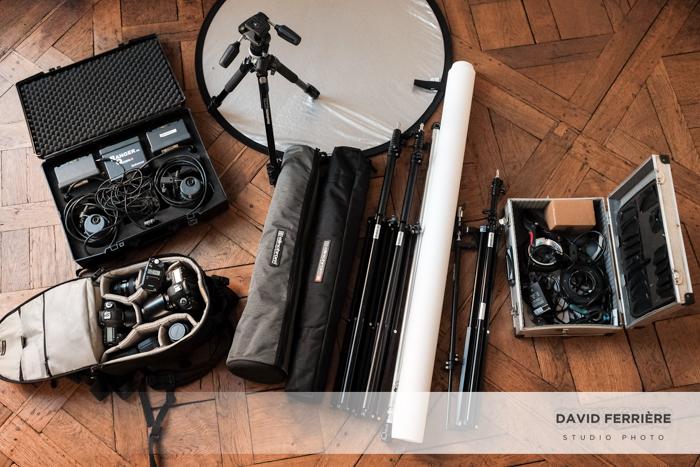 Studio mobile pour portrait professionnel rennes